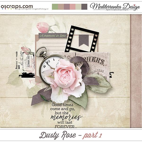 Dusty rose - part 1 (Mini kit)