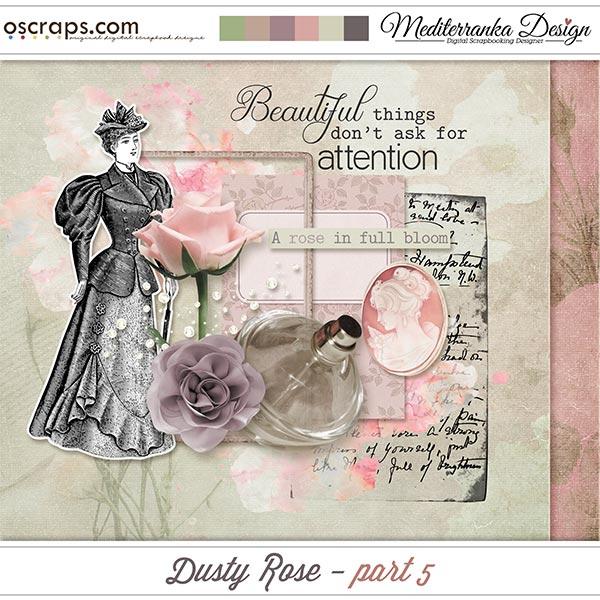 Dusty rose - part 5 (Mini kit)