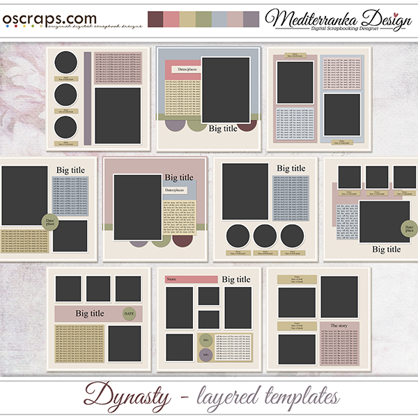 Dynasty (Layered templates)