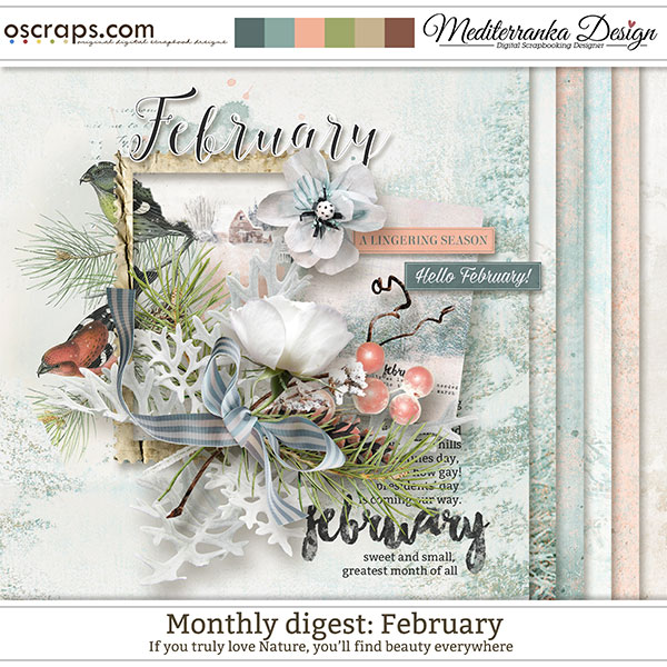 Monthly Digest: February (Mini kit)