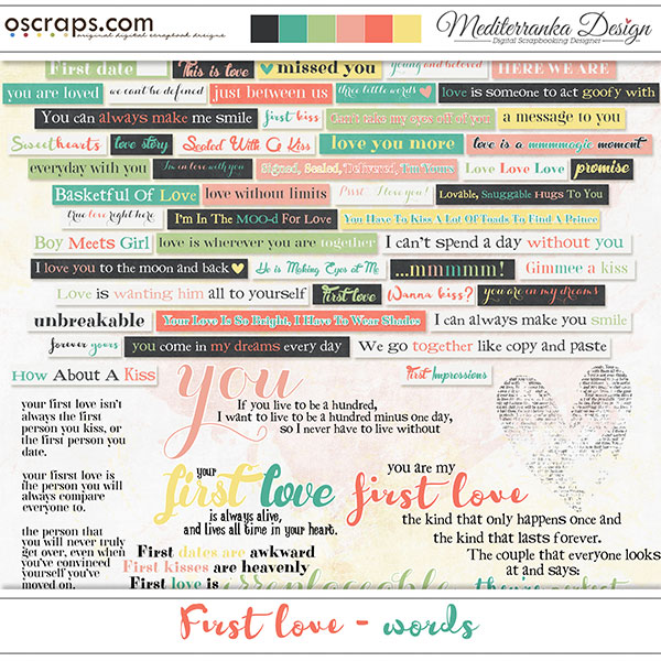First love (Words)