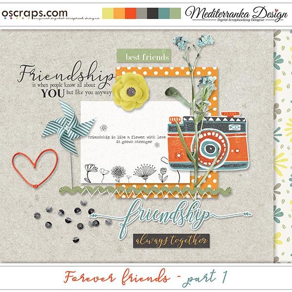 Forever friends - part 1 (Mini kit)