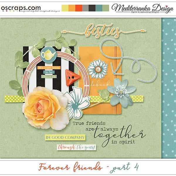 Forever friends - part 4 (Mini kit)