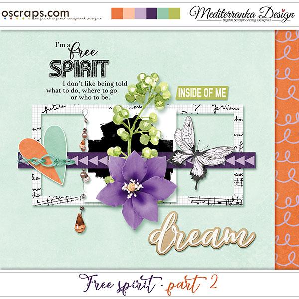 Free spirit - part 2 (Mini kit)