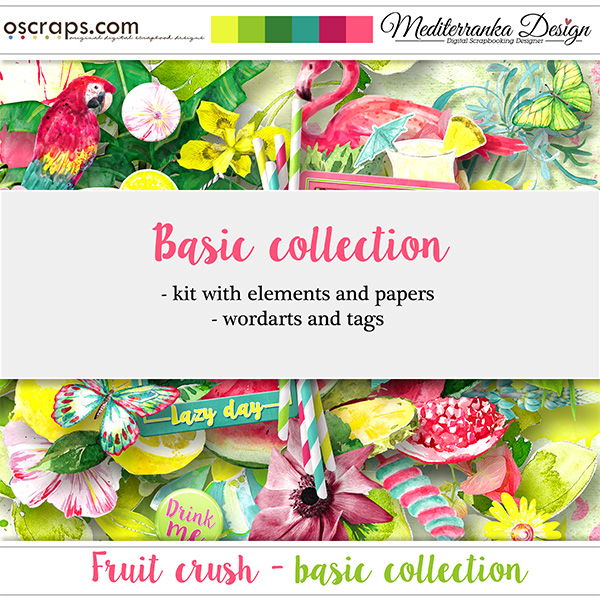 Fruit crush (Basic collection 2 in 1)