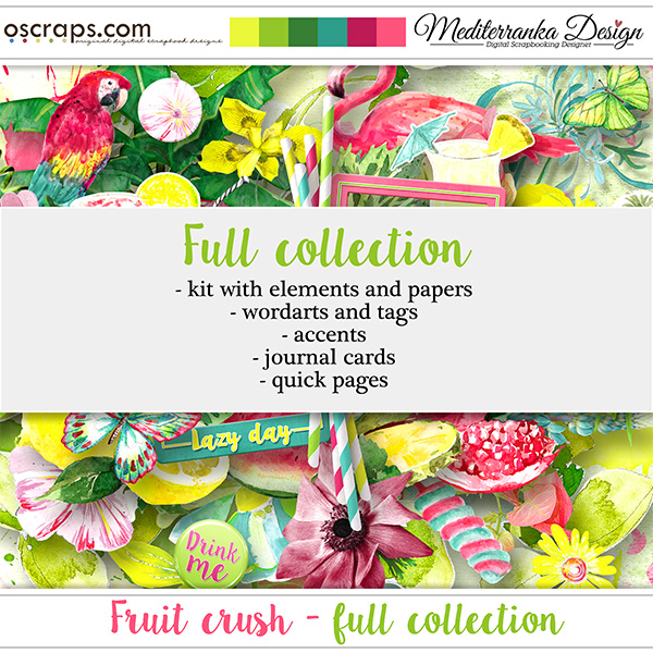 Fruit crush (Full collection 5 in 1)