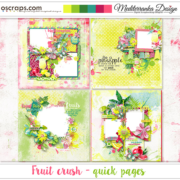 Fruit crush (Quick pages)