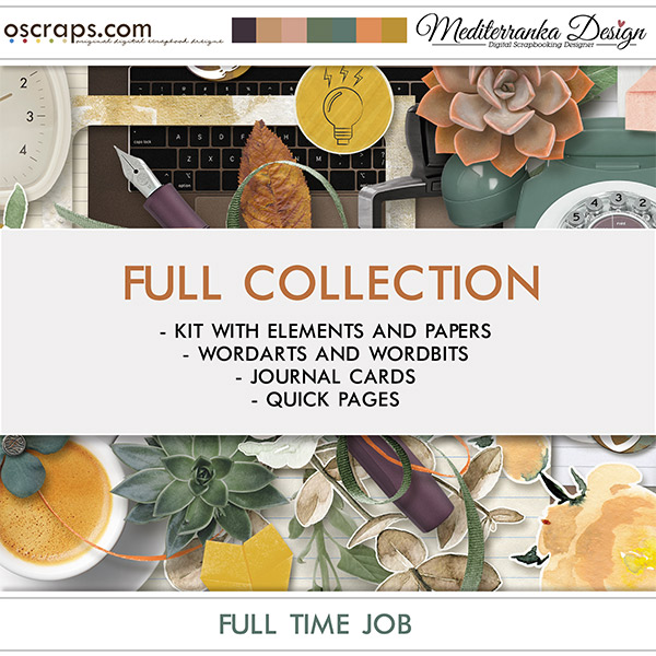 Full time job (Full collection 4 in 1)