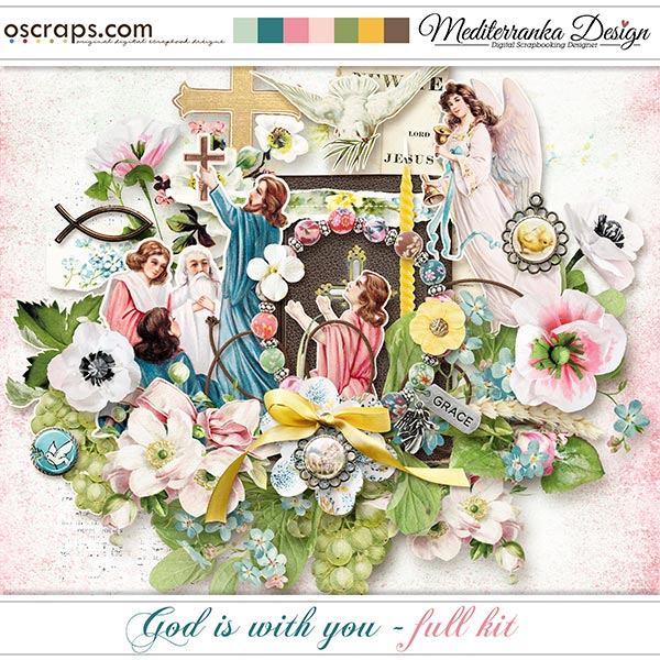 God is with you (Full kit)