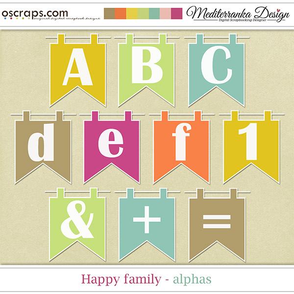 Happy Family (Alphas)