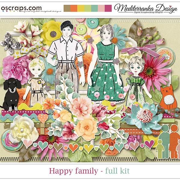 Happy Family (Full kit)