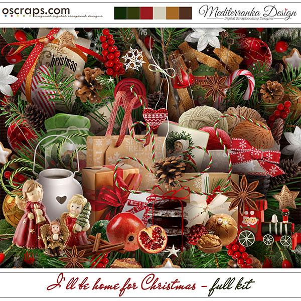I'll be home for Christmas (Full kit)