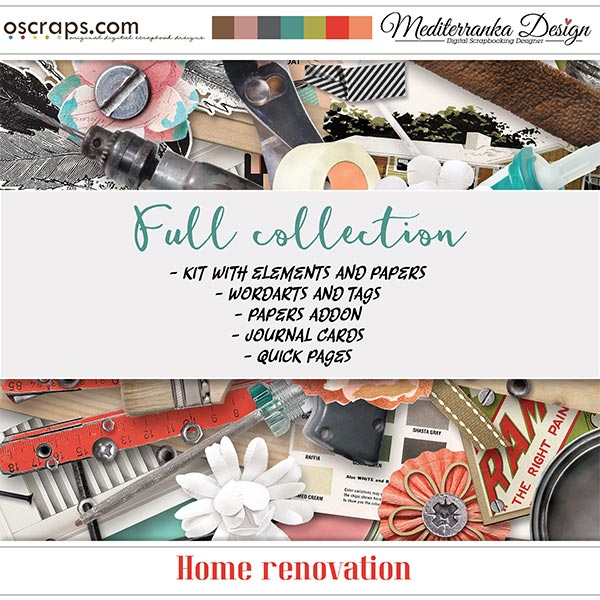 Home renovation (Full collection 5 in 1)