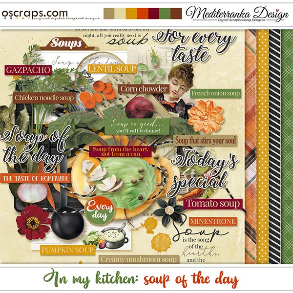 In my kitchen: soup of the day (Mini kit)