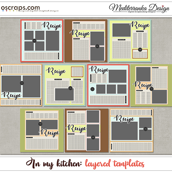 In my kitchen (Layered templates)