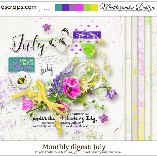 Monthly Digest: July (Mini kit)