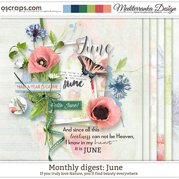 Monthly Digest: June (Mini kit)