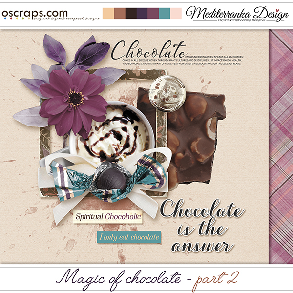 Magic of chocolate - part 2 (Mini kit)