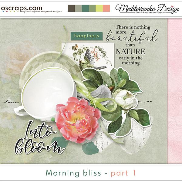 Morning bliss - part 1 (Mini kit)