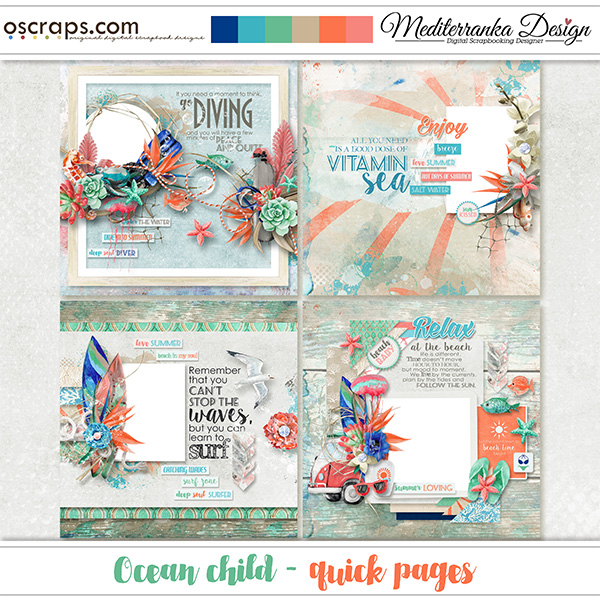 Ocean child (Quick pages)
