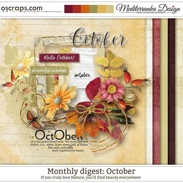 Monthly Digest: October (Mini kit)