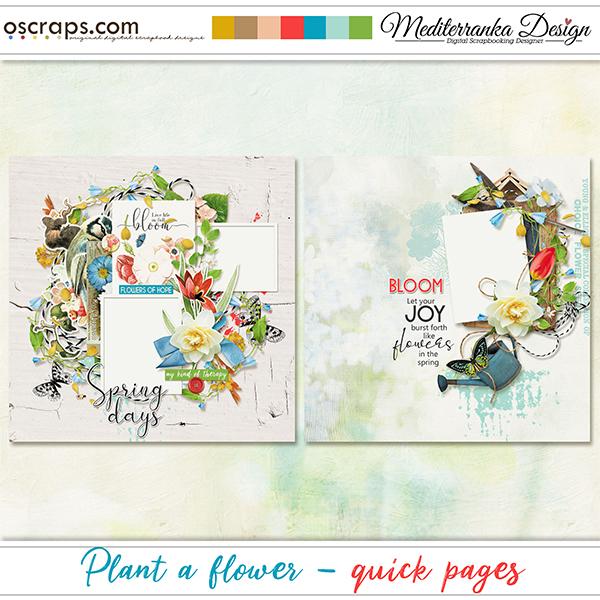 Plant a flower (Quick pages)