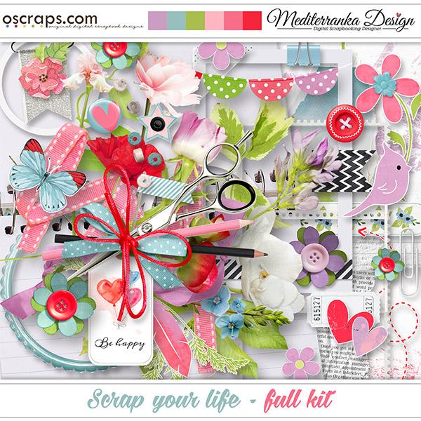 Scrap your life (Full kit)