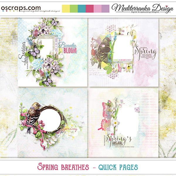 Spring Breathes (Quick pages)