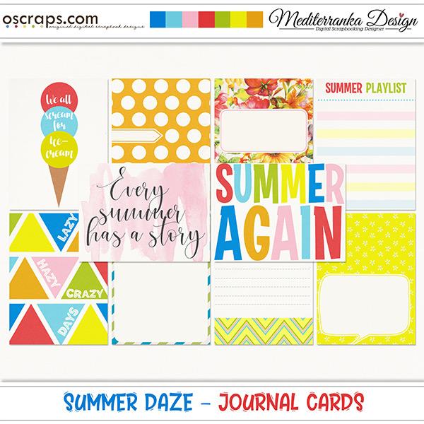 Summer daze (Journal cards)