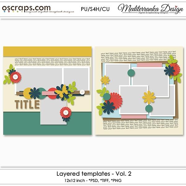 Layered templates - Vol.2