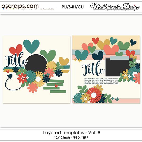Layered templates - Vol.8