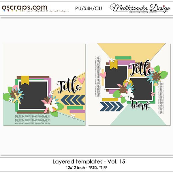 Layered templates - Vol.15