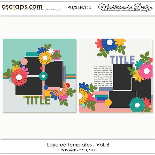 Layered templates - Vol.6