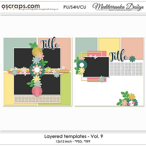 Layered templates - Vol.9
