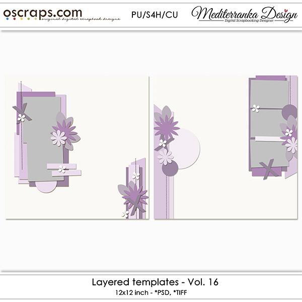 Layered templates - Vol. 16