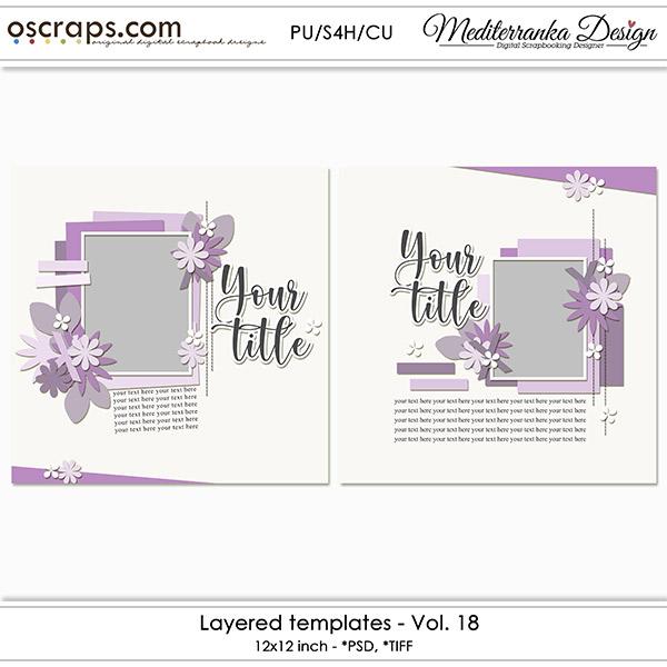 Layered templates - Vol. 18