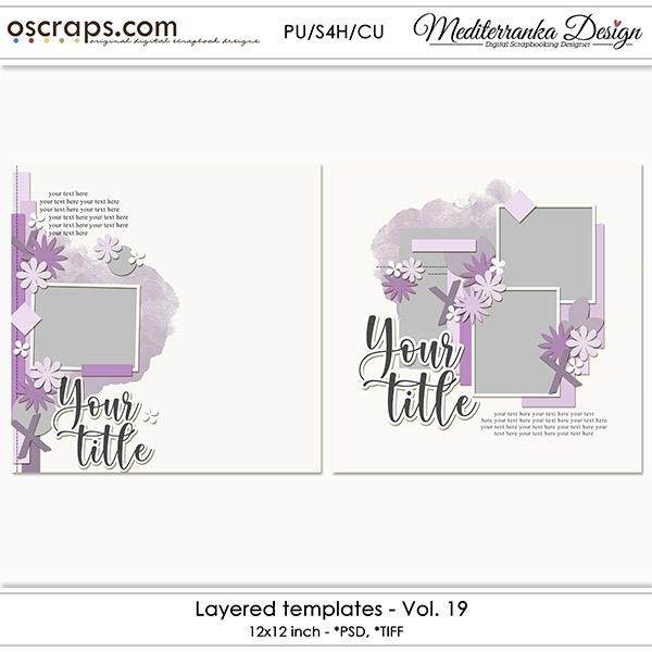 Layered templates - Vol. 19