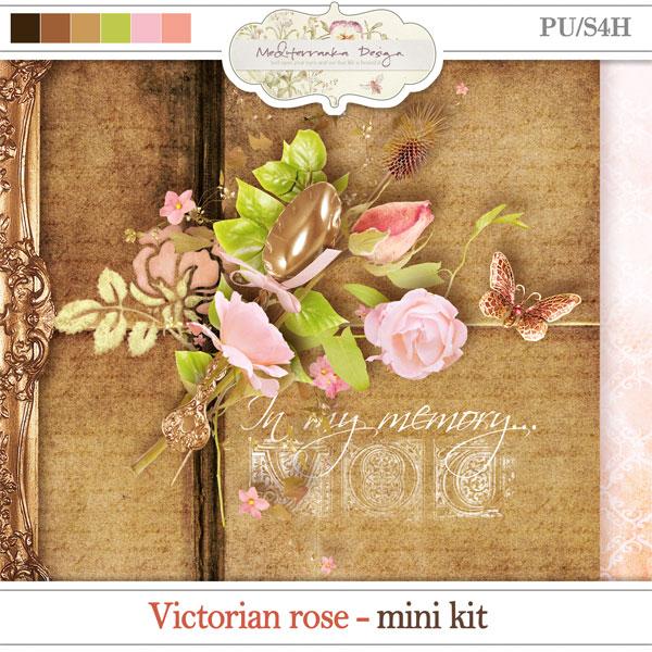 Victorian rose (Mini kit)