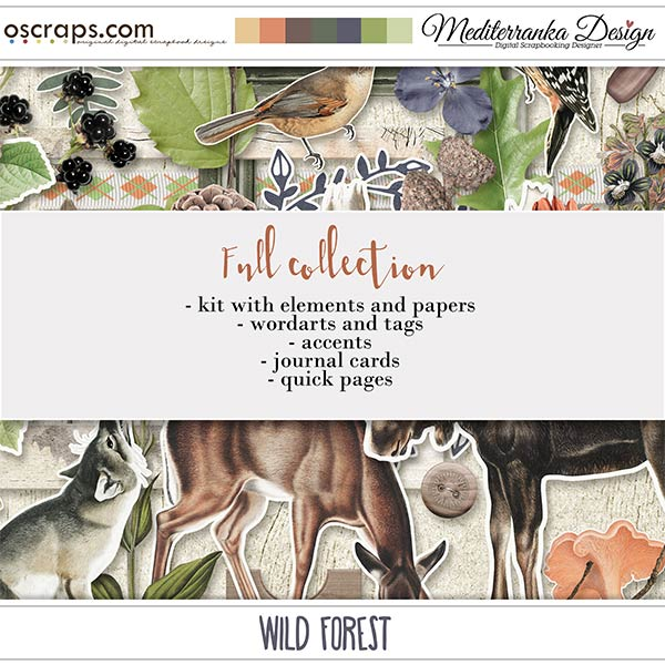 Wild forest (Full collection 5 in 1)