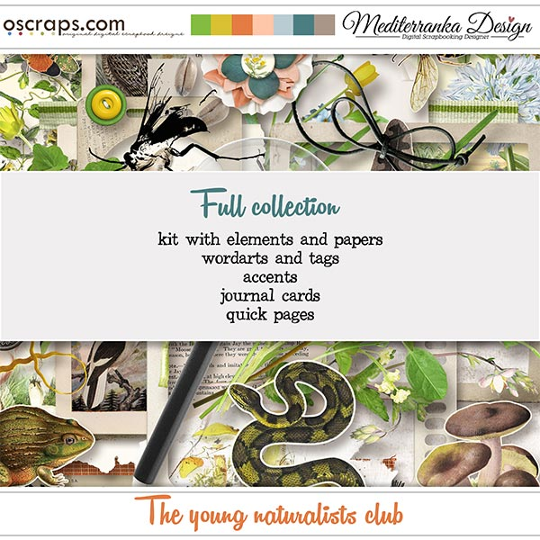 The young naturalists club (Full collection 5 in 1)