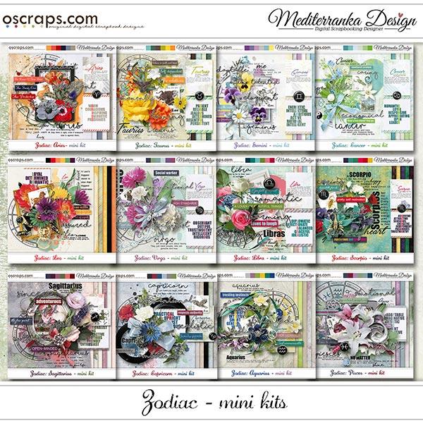 Zodiac: 12 mini kits (Full pack)