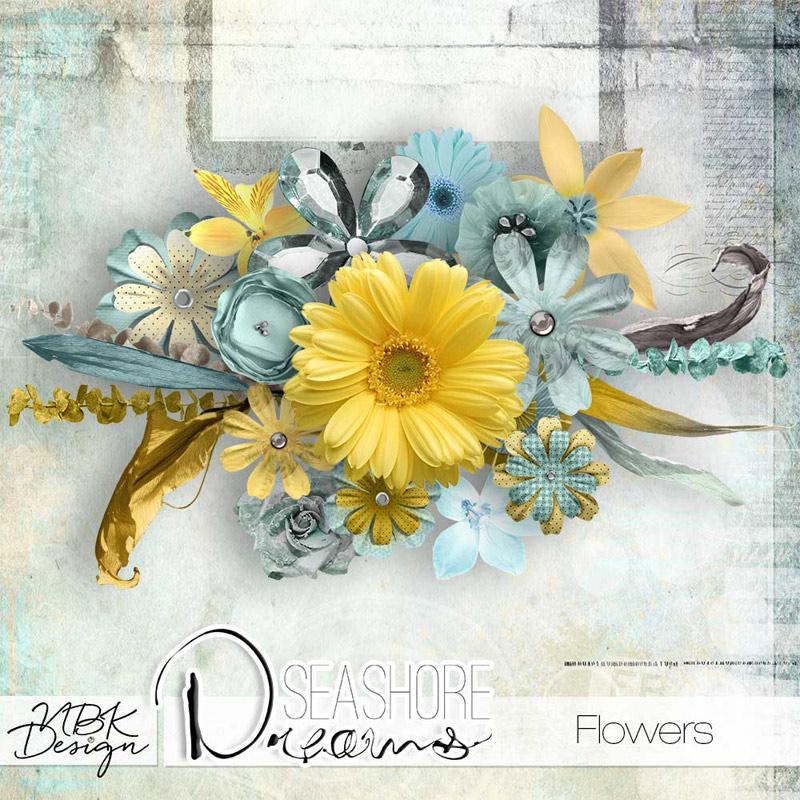 Seashore Dreams {Flowers}