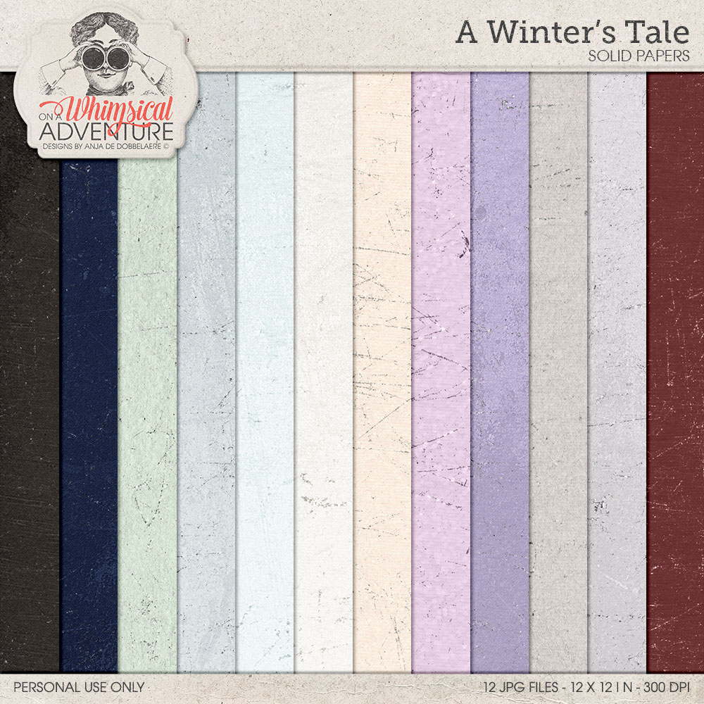 A Winter's Tale Solid Papers