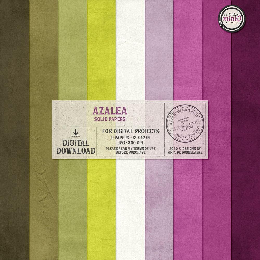 Azalea Solid Papers
