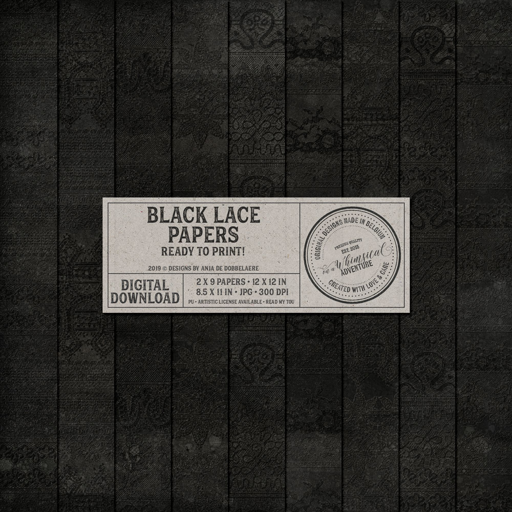 Black Lace Papers
