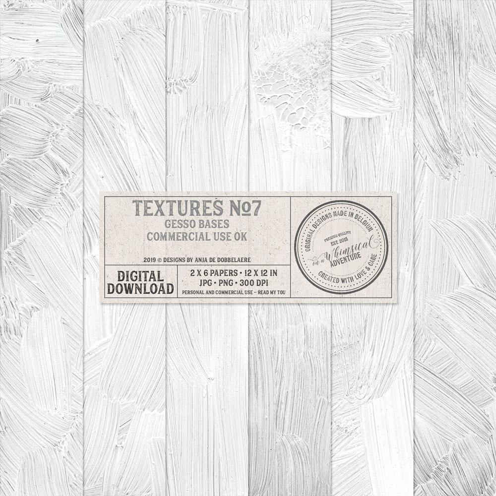 CU Textures No7 Gesso Bases