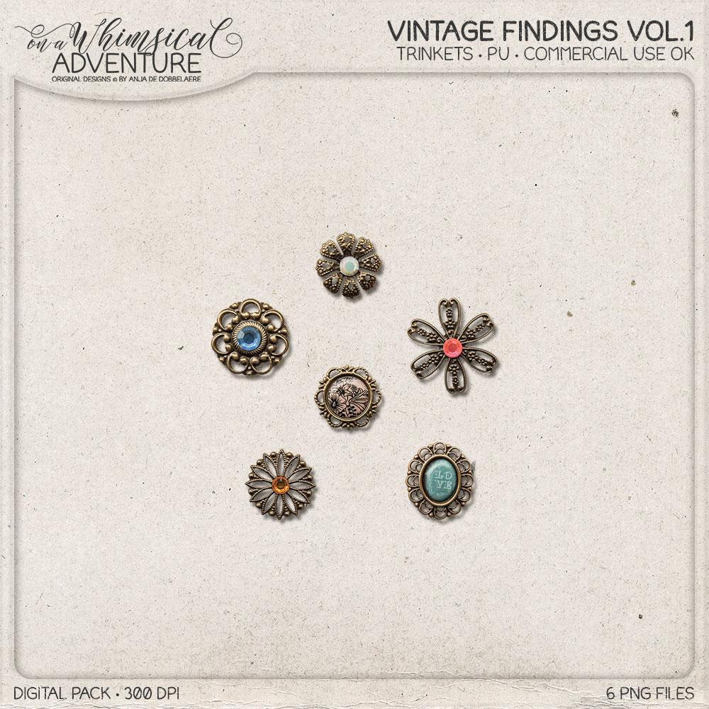 CU Vintage Findings Vol1