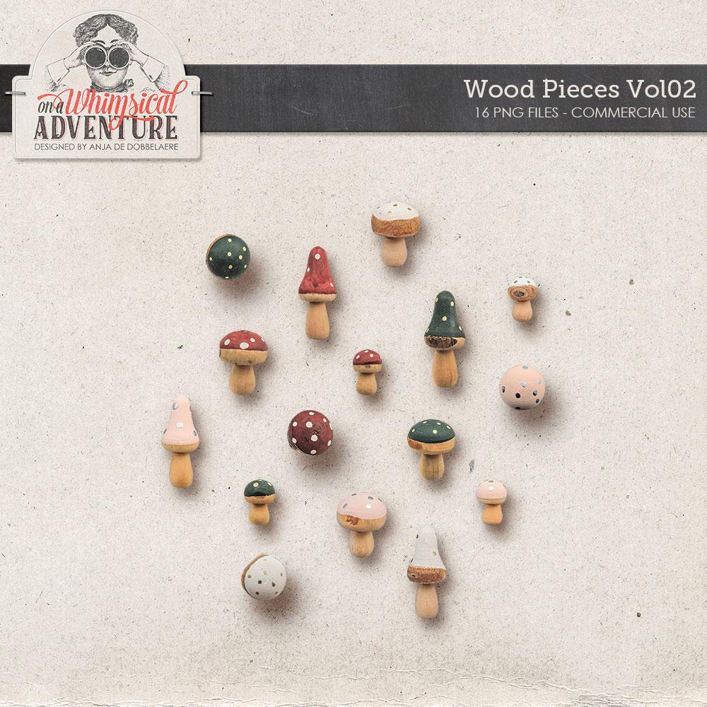 CU Wood Pieces Vol02