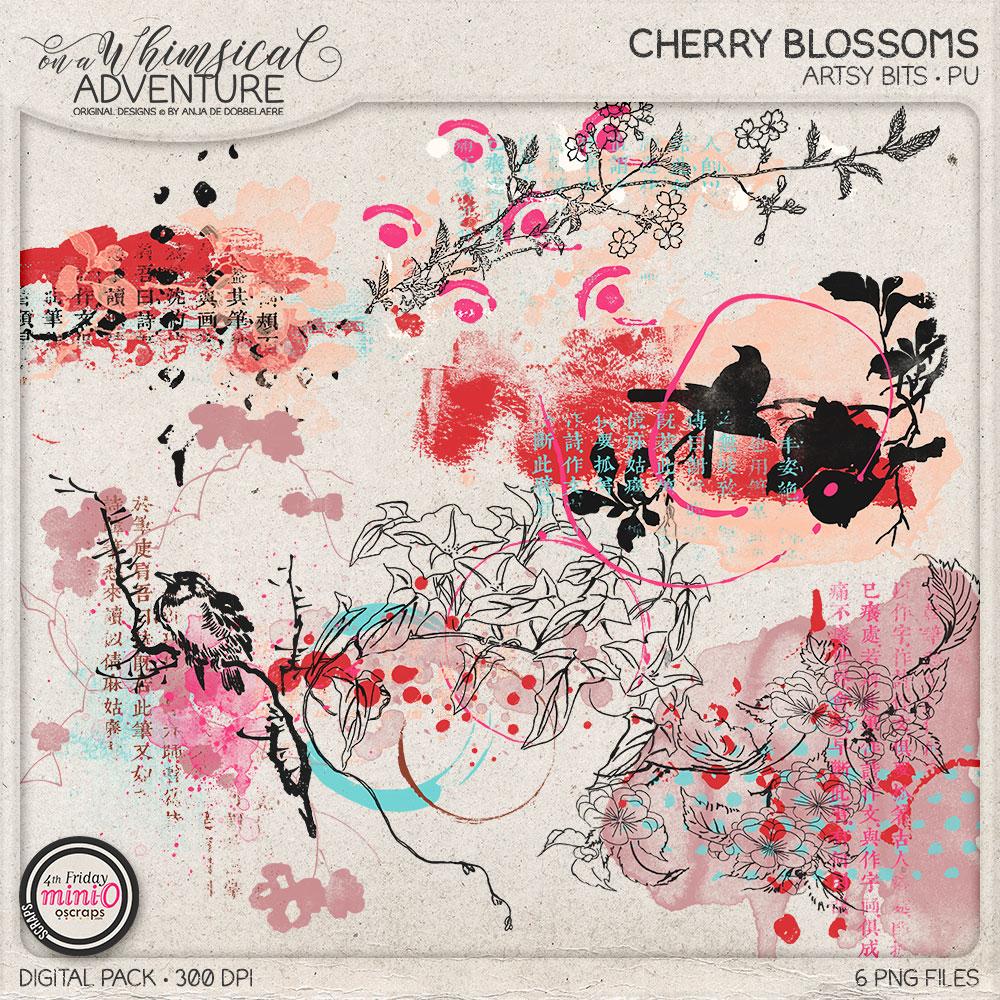 Cherry Blossoms Artsy Bits