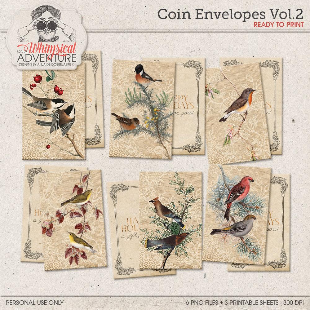 Coin Envelopes Vol2